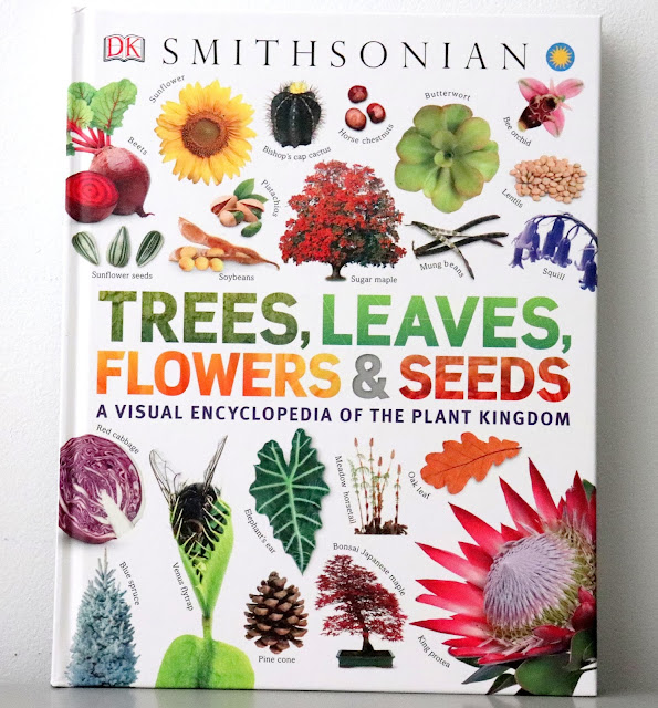 dk book about trees leaves flowers