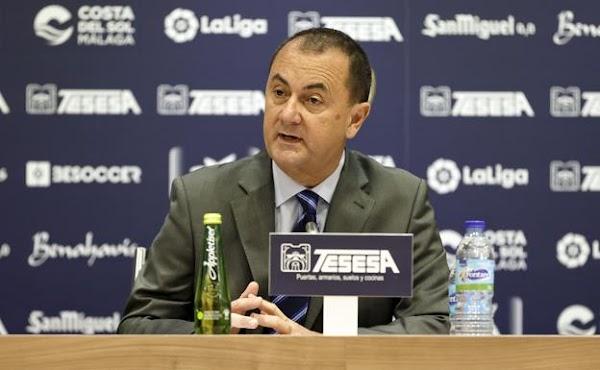 El Málaga tiene pendiente unos 19 millones de euros en los tribunales por reclamaciones, traspasos y más