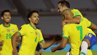 Brasil vence o Uruguai  e fecha 2020, líder das Eliminatórias