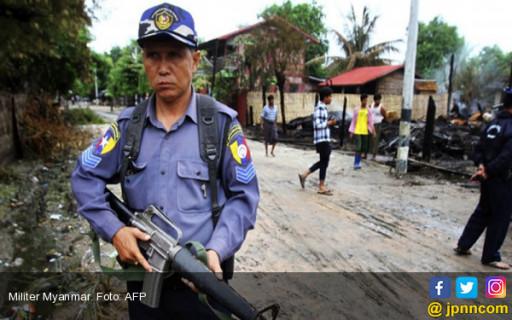 Rohingya di Myanmar Membara Lagi, Militan Rohingya Serbu Pos Polisi dan Markas Tentara