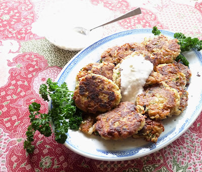 Turkish Eggplant & Potato Kofte