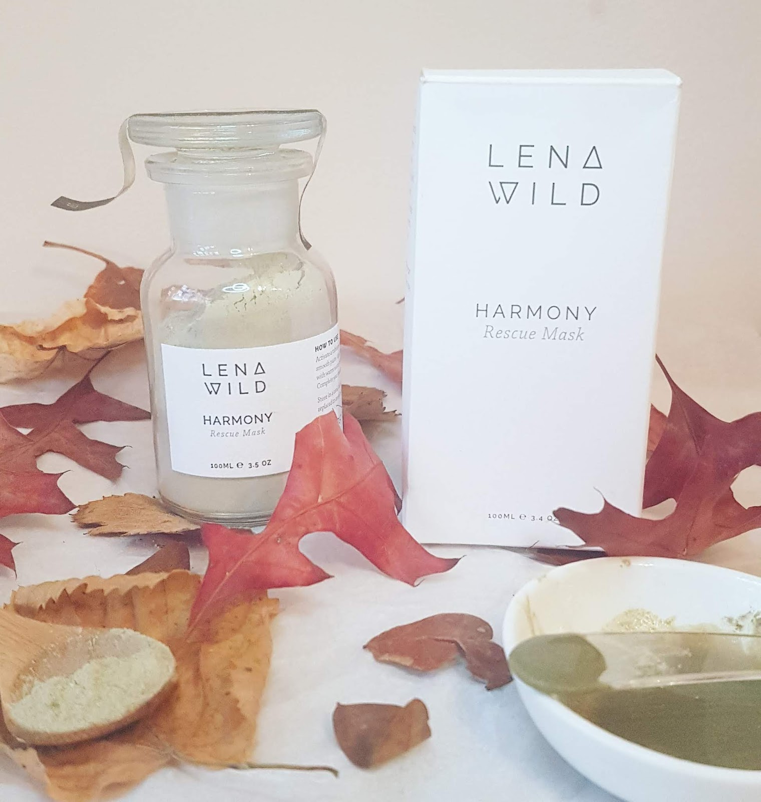 Lena Wild Harmony Rescue Mask review - from Origins of Beauty