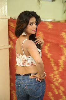 Deekshita Parvathi in a short crop top and Denim Jeans Spicy Pics Beautiful Actress Deekshita Parvathi January 2017 CelebxNext (43).JPG