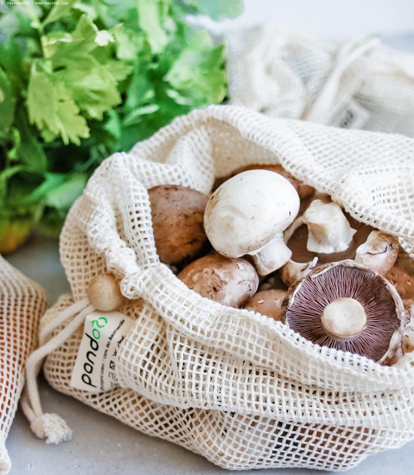 Gemüsenetze Bio-baumwolle