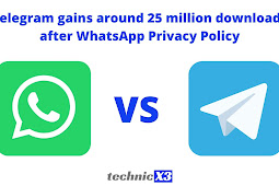Telegram gain around 25 million downloads after WhatsApp Privacy Policy
