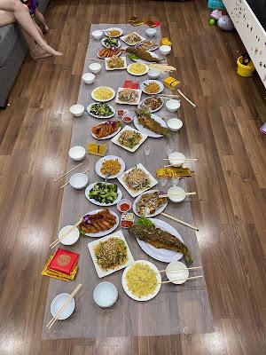 dịch vụ nấu cỗ tại nhà Trần Thái Tông- Cầu Giây