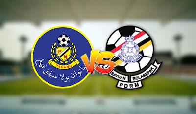 Live Streaming Pahang vs PDRM FA Liga Super 12.9.2020