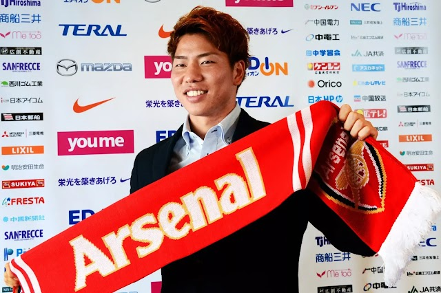 DEAL DONE: 24-year Old star completes Arsenal switch
