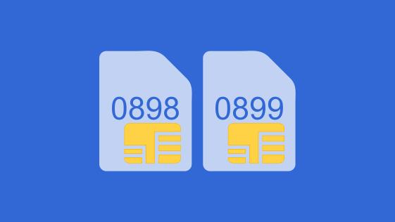 Nomor Kartu 0898 dan 0899 operator apa? ini provider nya