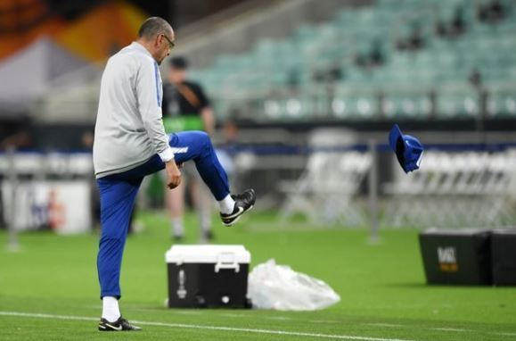 Chelsea vs Arsenal: Sarri storms out of training ahead of Europa League final [VIDEO]