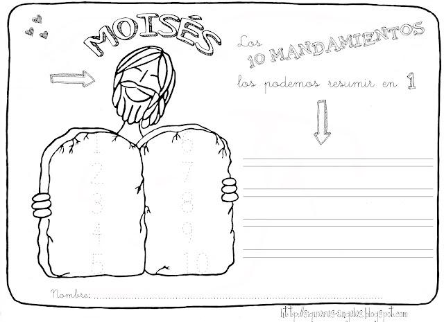 Como Dibujar Al Principe Oscuro: Si Quieres Aprender, ENSEÑA.: Moises 2