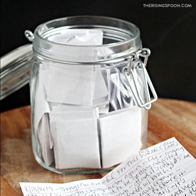 DIY Gratitude Jar (Easy Homemade Gift)