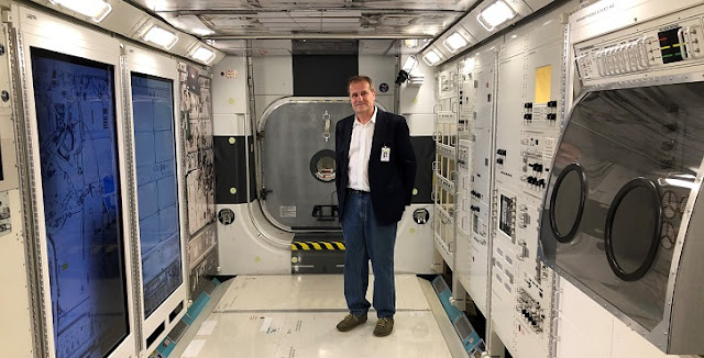 Stephan Moll, MD, at NASA