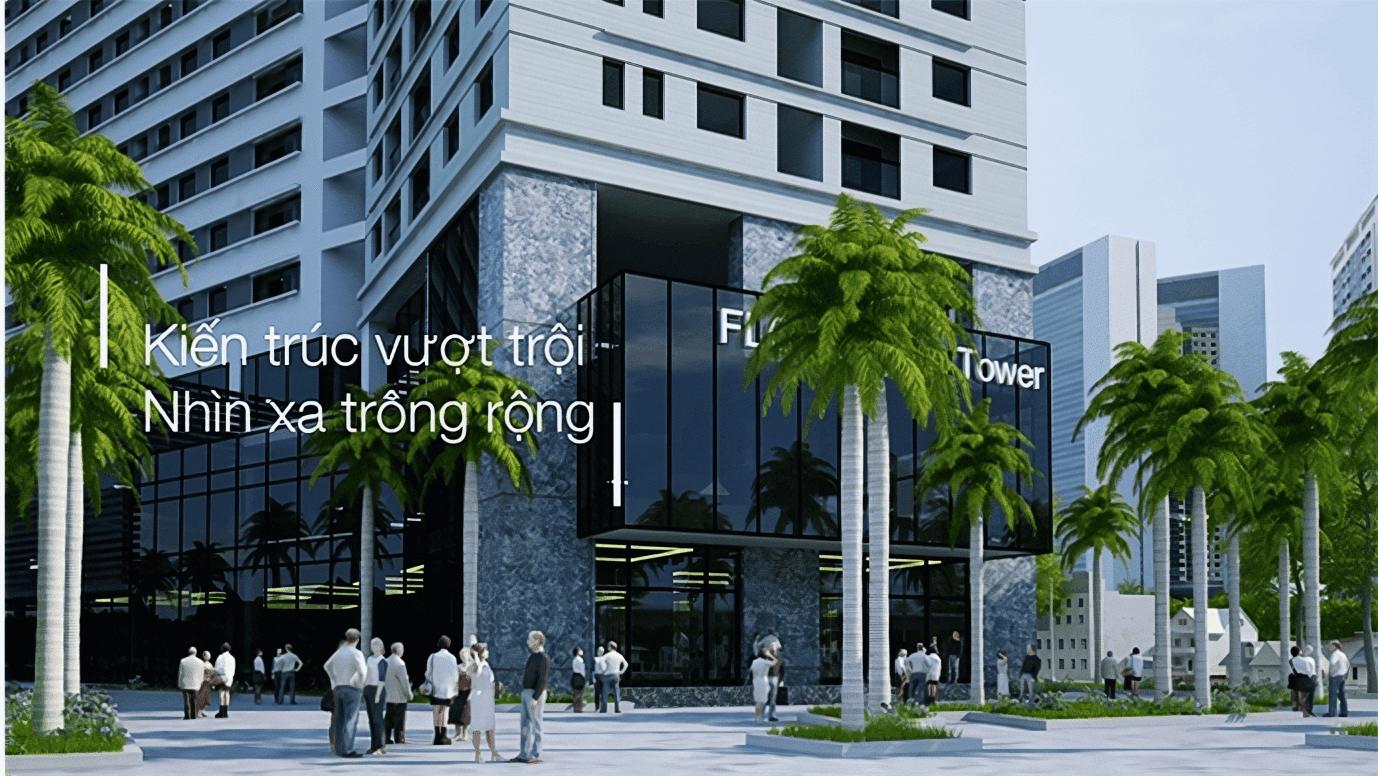 Kiến trúc thiết kế vượt trội bên trong căn hộ FLC 36 Phạm Hùng