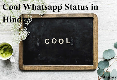 Whatsapp status in Hindi cool