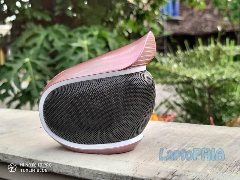 Review Yamada YMD 328: Speaker Bluetooth Berdesain Unik, Bersuara Jernih