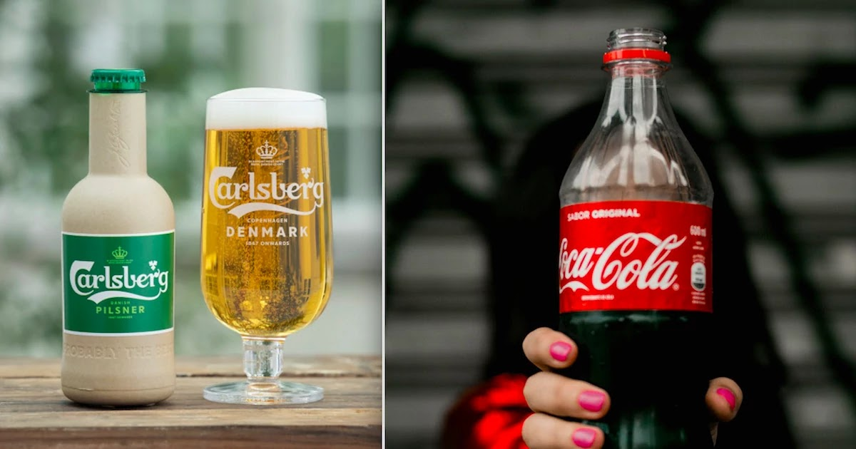 Coca-Cola Carlsberg And Other Big Brands To Switch To New Biodegradable Plant-Based Bottles