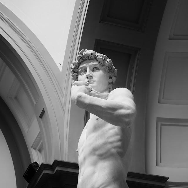 Michelangelo's David, ©nlundebjerg 2016 #michaelangelo #david Florence, Italy