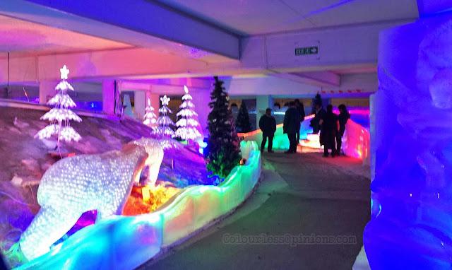 polar express i-city snowalk