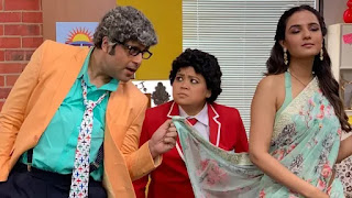 jasmin bhasin play bharti singh's mother in 'funhit mein jaari'