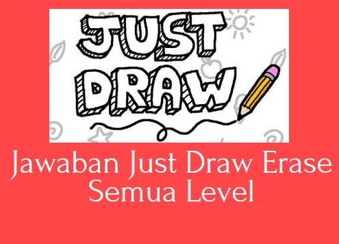 Kunci Jawaban Just Draw Erase Semua Level