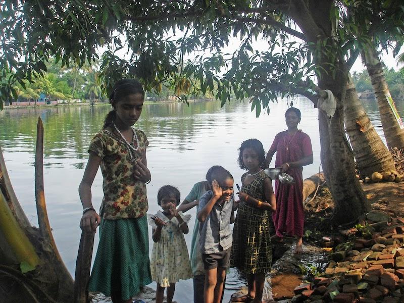 People of Alleppey Backwaters