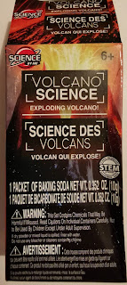Box packaging for Science By Me Volcano Science: Exploding Volcano! experiment