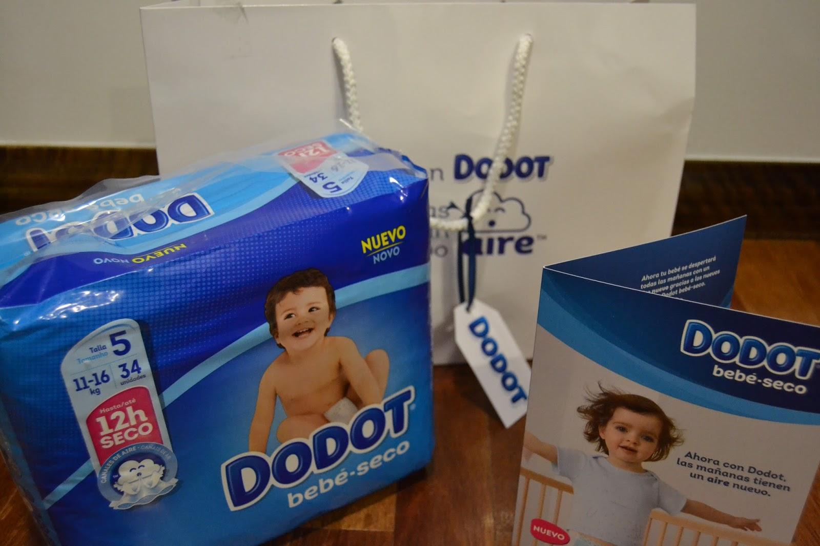 445ddef39 Sello de calidad  Prueba los nuevos pañales Dodot bebé-seco con canales de  aire