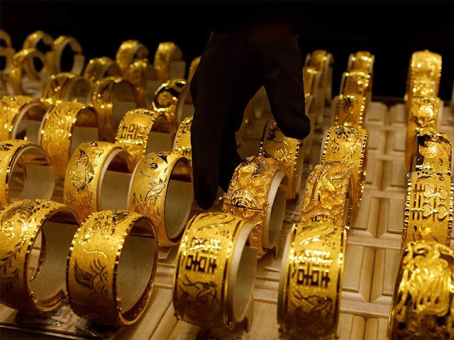 أسعار الذهب فى الإمارات اليوم الأحد 17/1/2021 وسعر غرام الذهب اليوم فى السوق المحلى والسوق السوداء