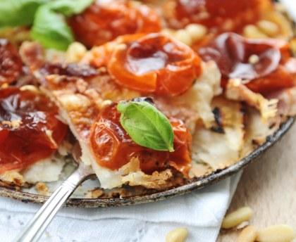 Tomato tatin tart