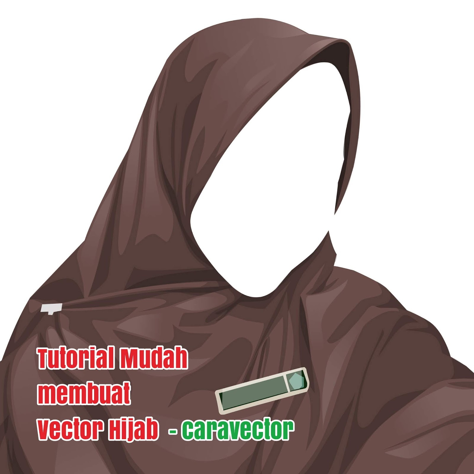 Tutorial Vector hijab tanpa Pallet di Infinite Design - Cara