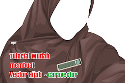 Tutorial Vector hijab tanpa Pallet di Infinite Design
