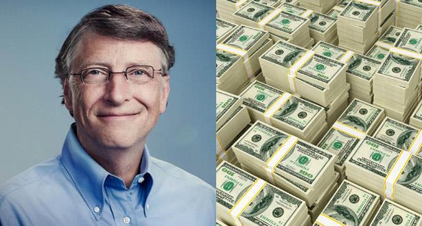 بيل غيتس يتبرع بمبلغ خيالي لمؤسسة خيرية