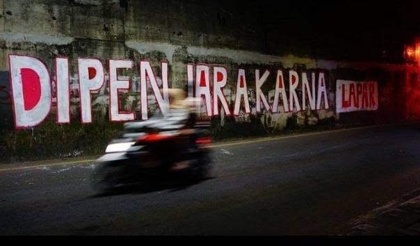 Sudah Dimulai, 'Lomba Mural Dibungkam' Gejayan Memanggil Banyak Yang Dihapus Aparat