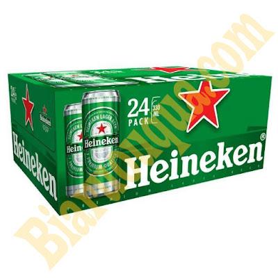Thùng bia Heineken Pháp 24 chai