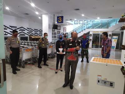 Jalankan Protokol Pencegahan Covid-19, Ombudsman Apresiasi Pihak Bandara Radin Inten II