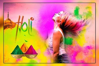 Happy Holi Photo Frame 2021