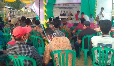 Warga Rasalewi Tagih Janji LUTFER di Arena Reses Anggota Dewan Dapil Asakota
