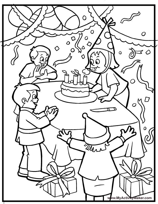 Teacher Elena: Birthday Parties