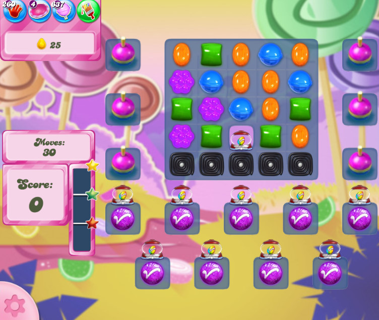 Candy Crush Saga level 2585