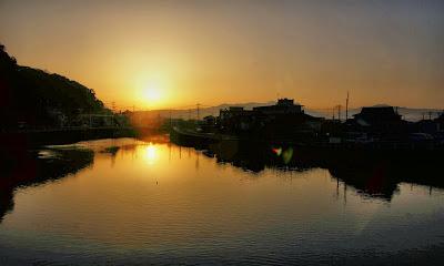 Banjo River, Kyushu, Japan