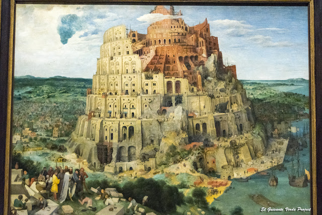 Pieter Bruegel, La Torre de Babel - Kunsthistorisches Museum, Viena por El Guisante Verde Project