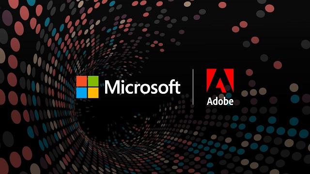 مايكروسوفت وأدوبي تعلنان عن شراكة موسعة