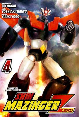 "Reseña de ""Shin Mazinger Zero"" vol.4 de Yoshiaki Tabata y Yuki Yugo - Ivréa"