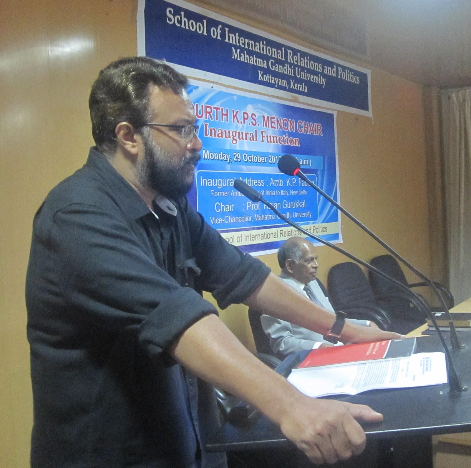 K P S Menon Chair for Diplomatic Studies