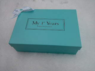 my 1st years gift box