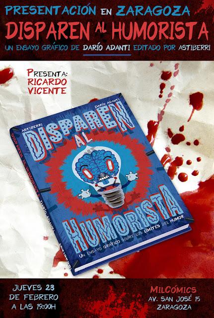 Darío Adanti presenta 'Disparen al humorista' en Zaragoza