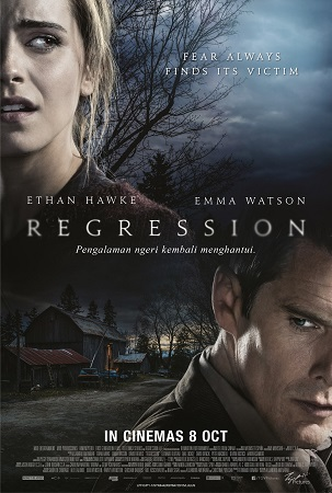Poster Of Regression 2015 English 300MB BRRip 480p Free Download Watch Online