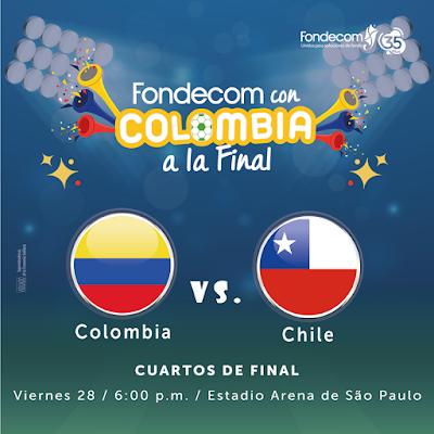Colombia vs Chile Live Copa America 28.6.2019