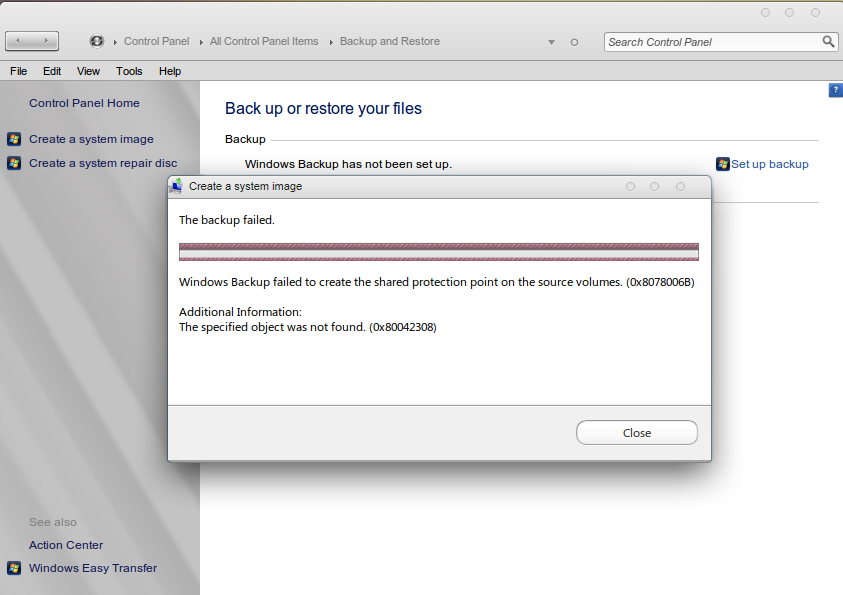 NOTHING PERSONAL: System Restore not work on your window
